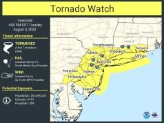 Tornado watch for Long Island