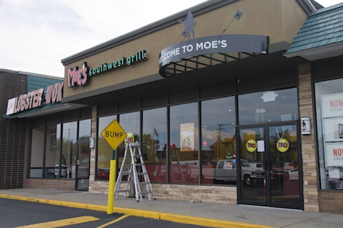 Moe's Southwest Grill is opening on Route 58 on Thursday. (Paul Squire photo)