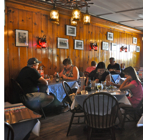 RACHEL YOUNG PHOTO   Downtown Riverhead restaurant Cliff's Rendezvous, which closed at the end of June due to damage from a kitchen fire, reopened its doors Sept. 7.