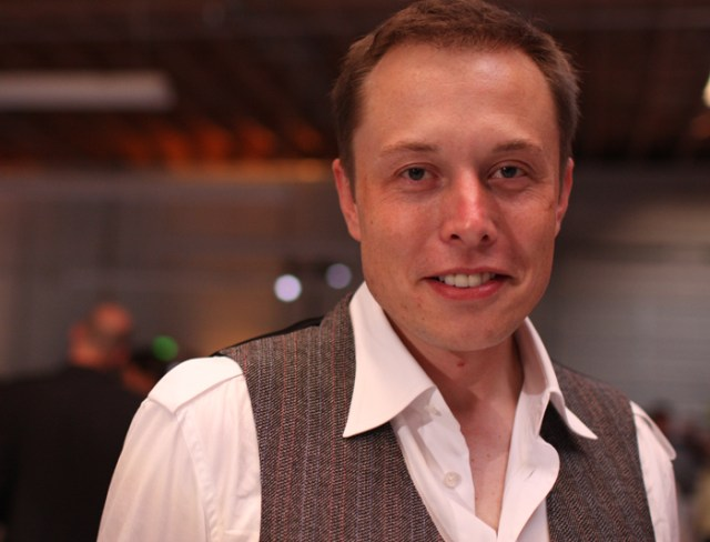 Elon Musk — show here at the Tesla Grand Opening in 2008 — has promised $1 million to a Shoreham-based group hoping to build a museum dedicated to Nikola Tesla. (Credit: Brian Solis, Creative Commons)