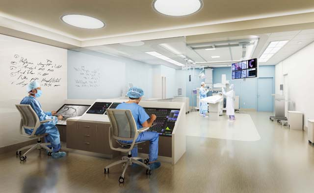 PBMC interior cath lab.