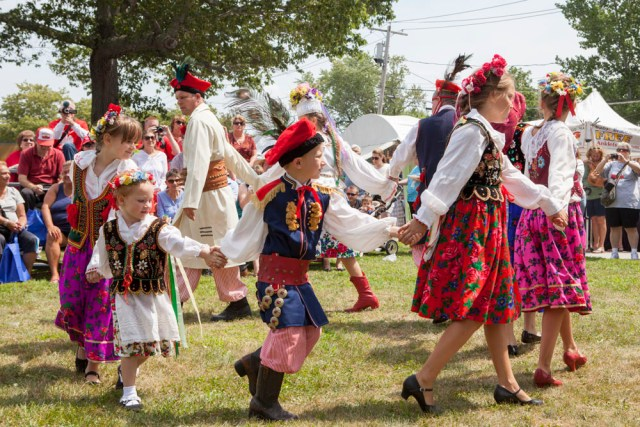 The 40th annual Polish Town Fair was held Saturday. (Credit: Katharine Schroeder)