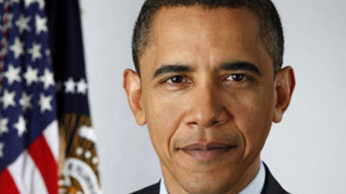President Barack Obama inauguration photo.