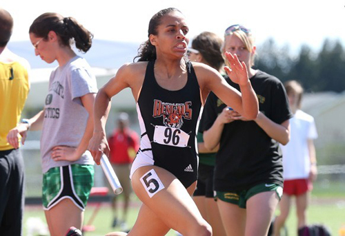 McGann-Mercy graduate Saśa Vann will compete in the NCAA Division III Championships this weekend. (Credit: Buffalo State Athletics)