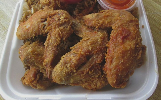 Chicken wings from Spicy's