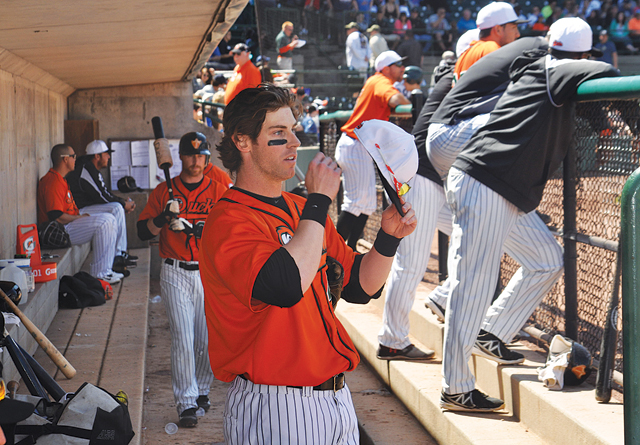 Bryan Sabatella of Aquebogue is the first North Fork resident to play for the Long Island Ducks. (Credit: Grant Parpan)