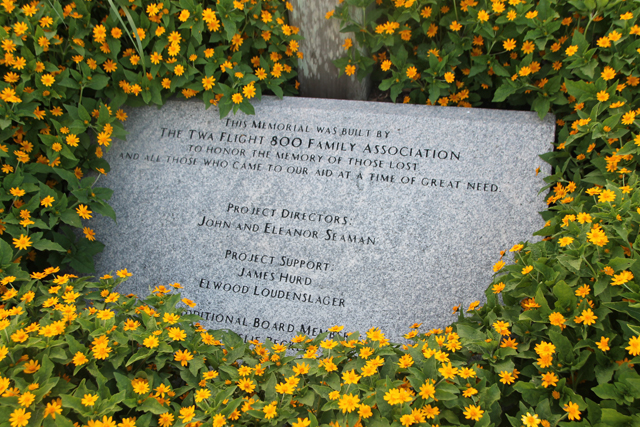 The memorial at Smith Point County Park. (Credit: Grant Parpan)