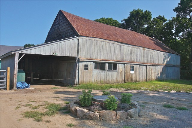 Built around 1760, this 3,200-square-foot barn in Northville may be the second-oldest on Long Island, according to local historian Richard Wines.