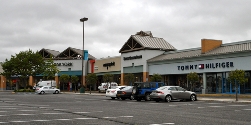 Tanger 1, pictured here, will be renovated next spring, Tanger Outlets general manager Janine Nebons said.
