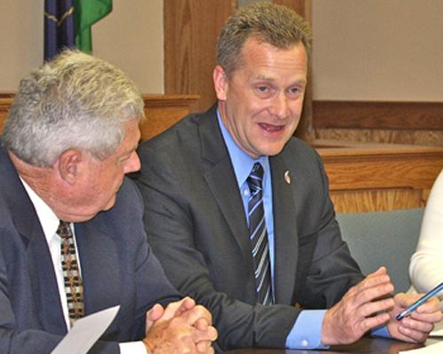 Suffolk County Legislature, Sean Walter, Ed Romaine