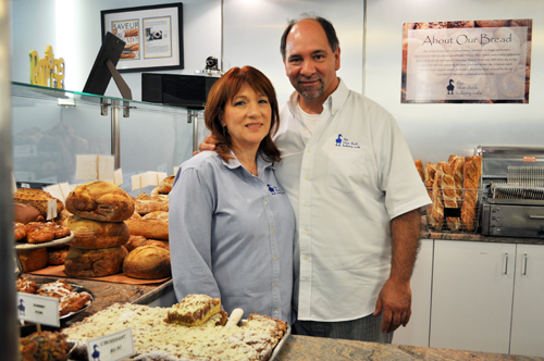 RACHEL YOUNG FILE PHOTO | Nancy and Keith Kouris at their Blue Duck location last month in Riverhead.