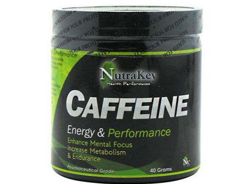 A powdered caffeine product by Nutrakey.