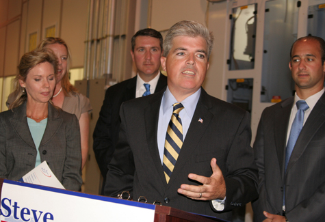 JENNIFER GUSTAVSON FILE PHOTO | Suffolk County Executive Steve Bellone.