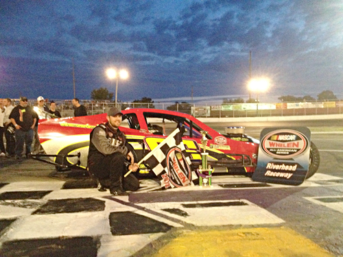 AMY SPERO FILE PHOTO  |  Shawn Solomito of Islip was officially crowned the modified champion