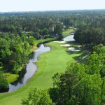 River Hills Golf Course aerial