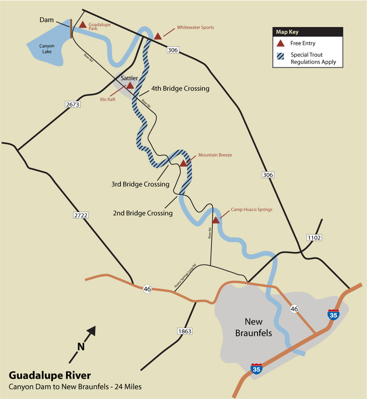 Map All Rivers Colorado