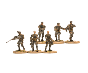 Command and Support Set for Terminator Genisys the Miniatures Game by River Horse