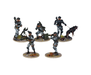 Resin 'Multi-pack' from Terminator Genisys the Miniatures Game by River Horse