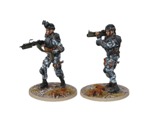 LAW & SAW team for Terminator Genisys the Miniatures Game by River Horse