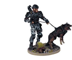 K9 Team for Terminator Genisys the Miniatures Game by River Horse