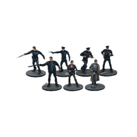 1984-line-up for Terminator Genisys the Miniatures Game by River Horse