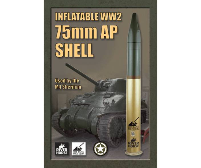 Inflatable WW2 75mm AP Shell by River Horse