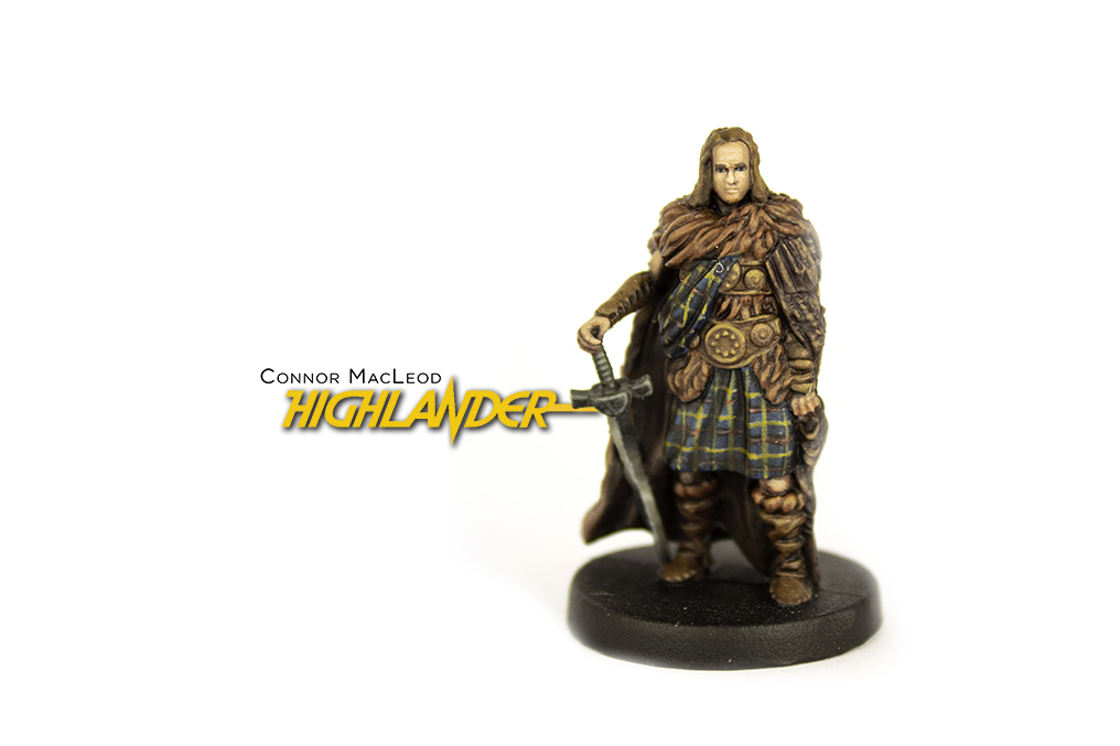 Painted example of Highlander (Ancient) from Highlander The Board Game by River Horse
