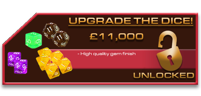 11K upgrade the Dice unlocked for The Hunger Games: Mockingjay - The Board Game by River Horse