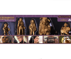 Deluxe Playing Pieces for Jim Henson's Labyrinth the Board Game by River Horse