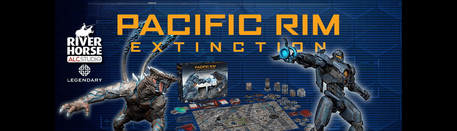 Web Banner for Pacific Rim: Extinction by River Horse Games