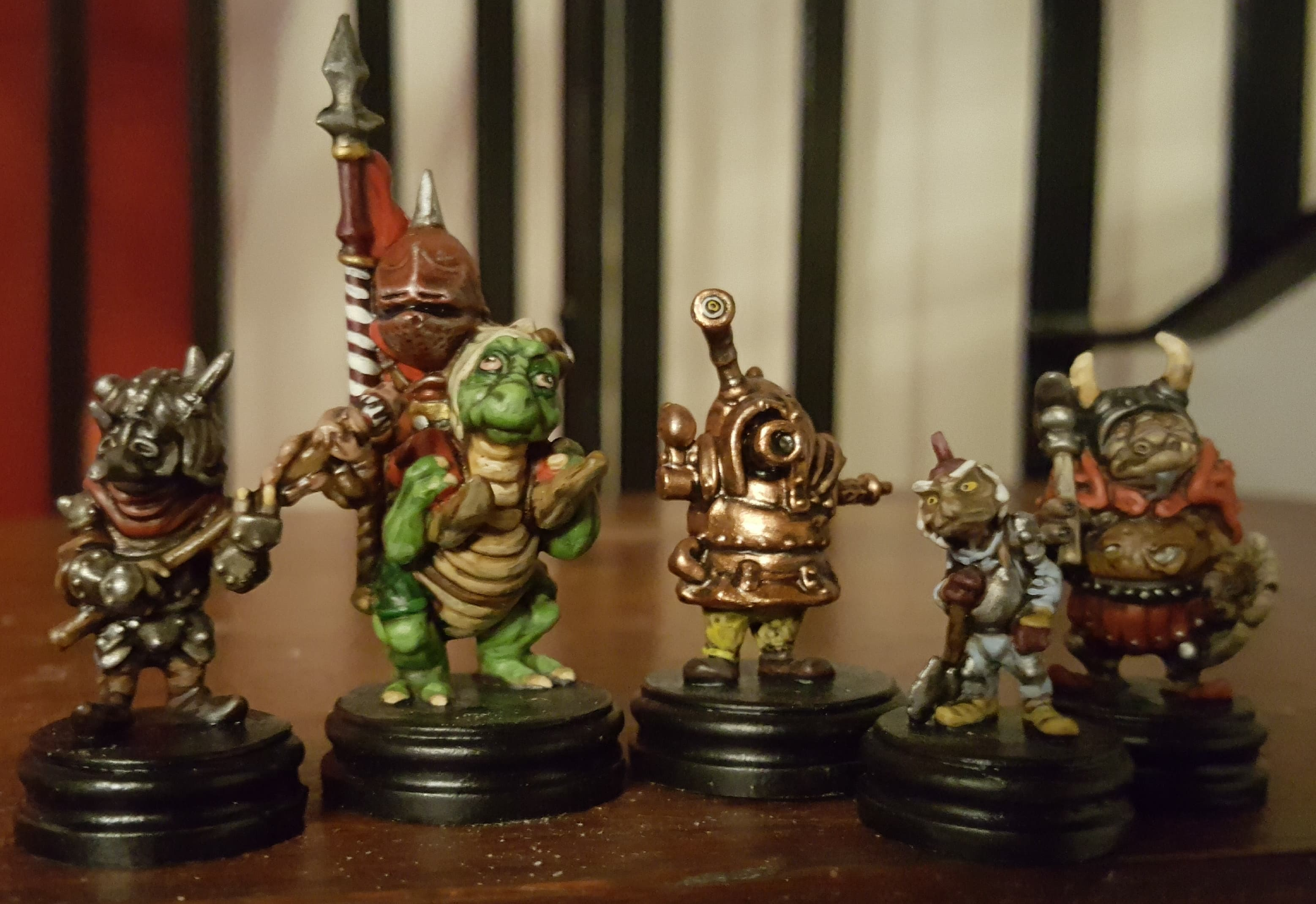 Painted Goblins! from Jim Hensons Labyrinth the Board Game by River Horse