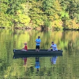 Teen Boys Fishing Outdoor Adventure Retreat