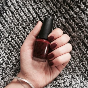 Vernis OPI ancienne collection.