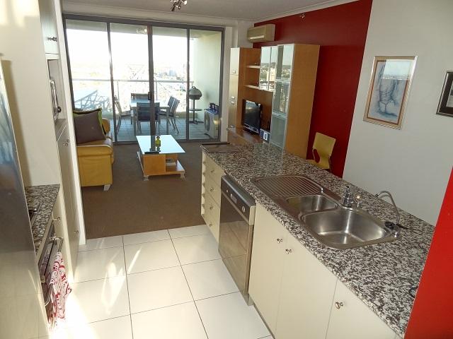 River Place kitchen lounge