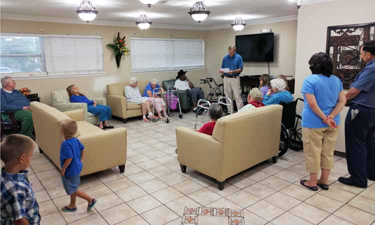 Fort Caroline nursing home ministry