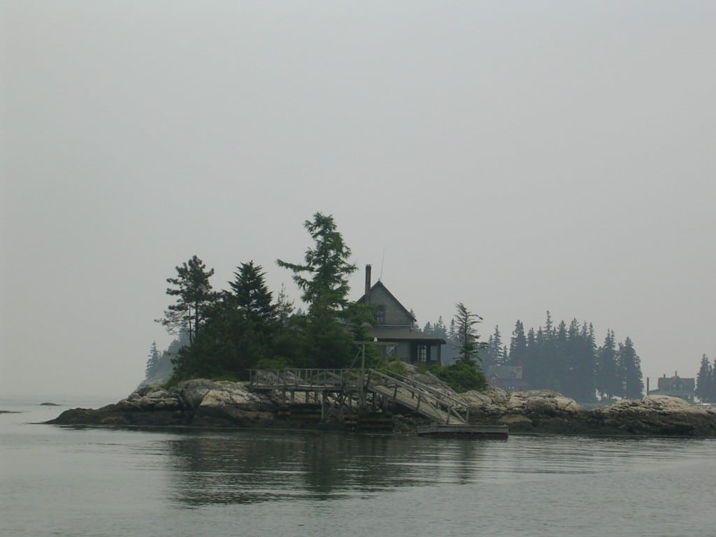 An Island in The Little Sheepscot