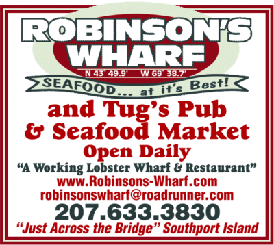 Robinson's Wharf Southport Island