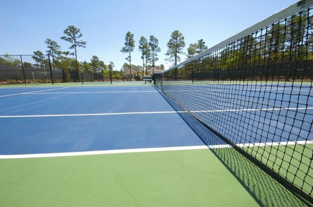 River's Edge Plantation Tennis Courts