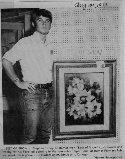 Steve Talley, Best of Show 1973, Photo Credit: