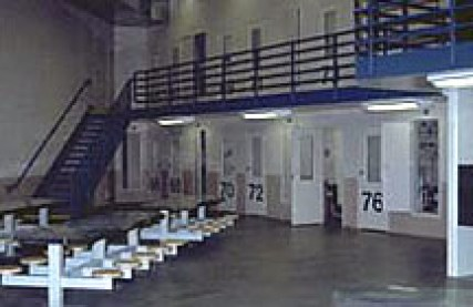 Jail Interior For attorney or special visits. Photo Credit: Riverside County Sheriff Department