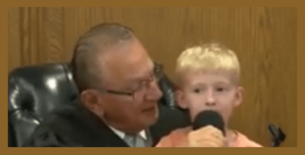 Providence judge allows 5-year-old to sentence and fine his father - RAOK
