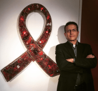 """Stigma and discrimination against people living with HIV still exist today and is something we are working hard to eliminate,"" according to John Strangis."