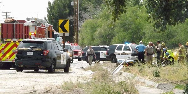 UPDATED: HEMET: 58-year-old Motorcyclist ID'd after deadly motorcycle accident