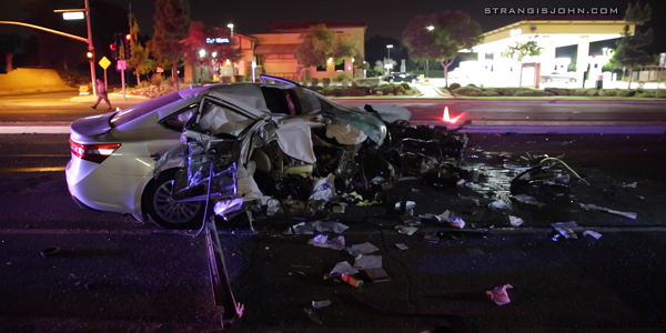 RIVERSIDE: One killed, one injured, in head-on crash into traffic pole - victim ID'd