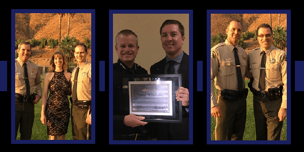 SAN JACINTO VALLEY: Local officers honored at recent dinner and awards banquet