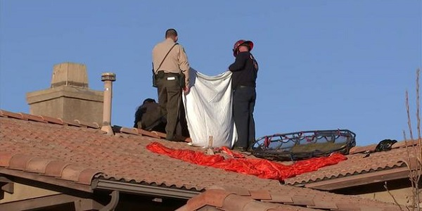 PERRIS: Skydiver dies after crashing onto home's roof during wingsuit competition