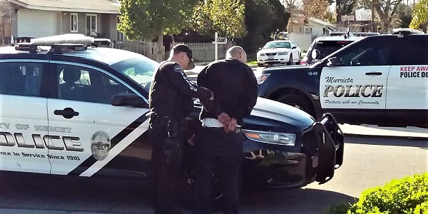 Rock-throwing squatters lead to Hemet barricaded standoff