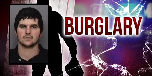 Caught in the act of burglarizing storage unit, Burney man arrested