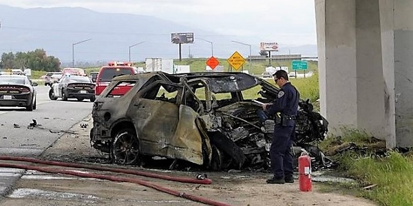 Murrieta man, 50, killed in fiery I-15 wreck