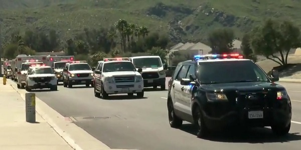 AMR medic killed in Palm Springs motorcycle collision